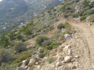 Ορεινό - παράνομη διάνοιξη δρόμου