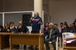 Ο καθηγητής Μιχάλης Παπαδάκης, μέλος του ΔΣ της ΕΛΜΕ Λασιθίου και της συντονιστικής ομάδας των Πολιτών εν δράσει
