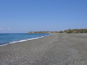 Η Μεγάλη Παραλία, στο Κουτσουνάρι Ιεράπετρας