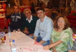 O υποψήφιος Δήμαρχος Ιεράπετρας, Μιχάλης Μαχαιράς, με τους υποψήφιους για το Τοπικό Συμβούλιο Μύρτους, Γιάννη Μανουσάκη, Γιάννη Χανιαλάκη και Αγάπη Λαμπρίδη – Καπαράκη